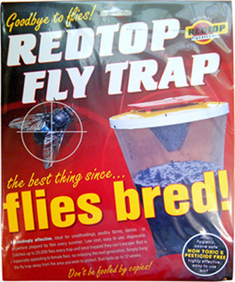Red Top Fly Trap
