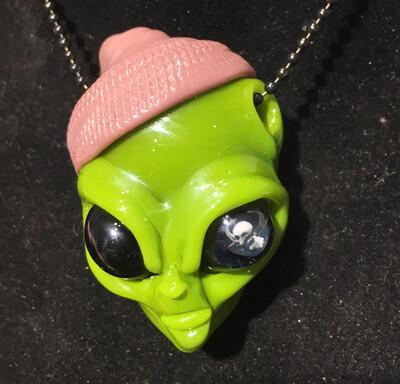 Ghost Alien Head