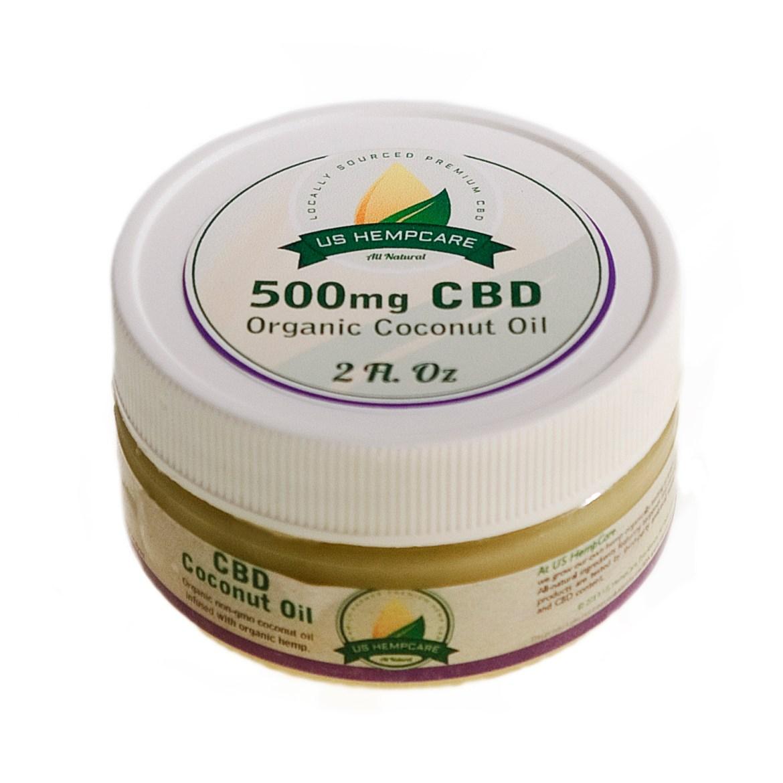 CBD Coconut Oil - 500mg HCCO-2000