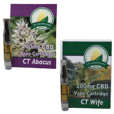 CBD Vape Cartridges - 200mg