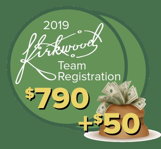 2019 Kirkwood Team Registration
