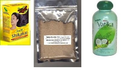 Shikakai + Amla + Vatika Growth Kit 61