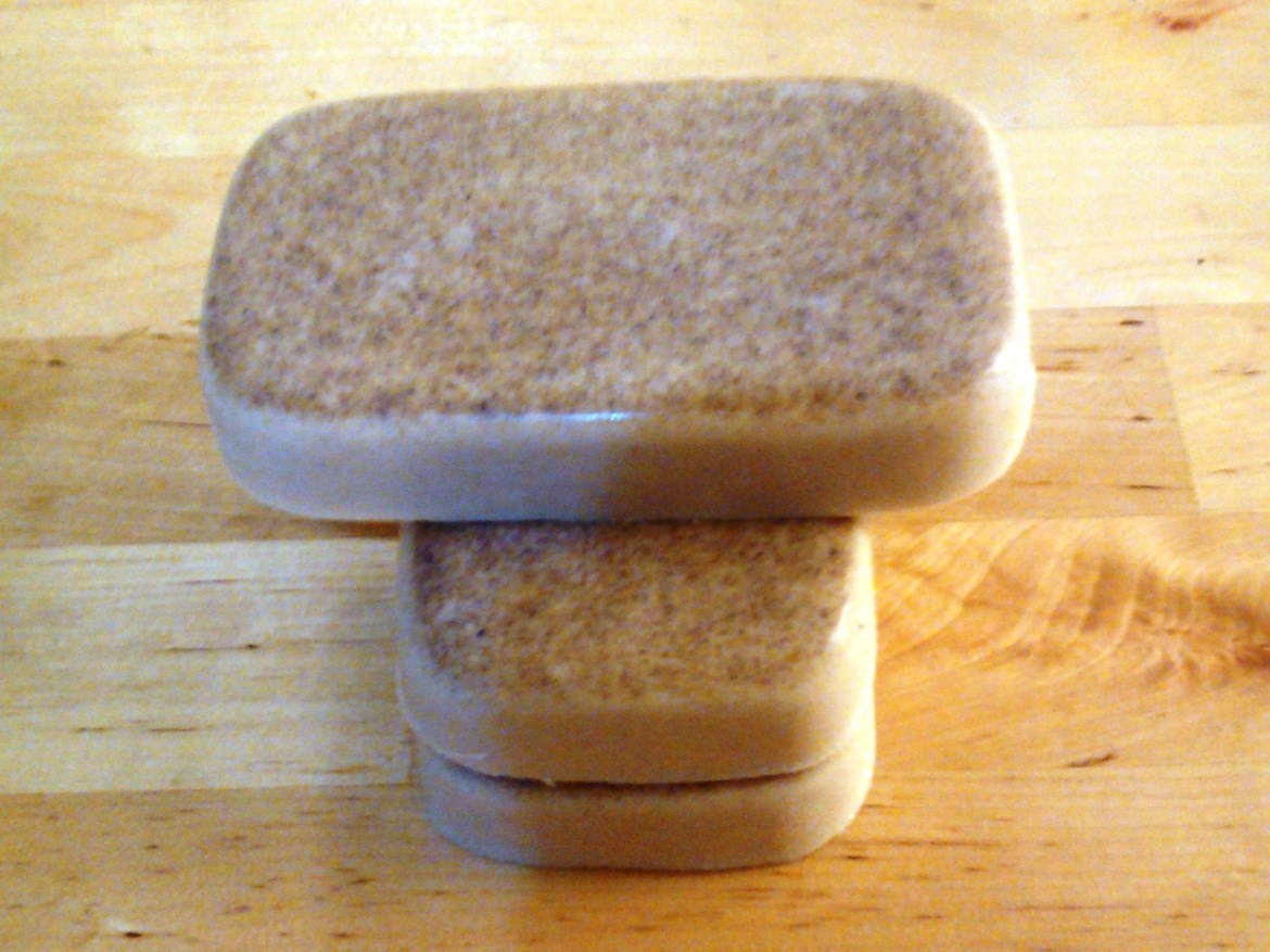 Low Lather Rhassoul Clay Shea Butter Shampoo and Conditioner Bar