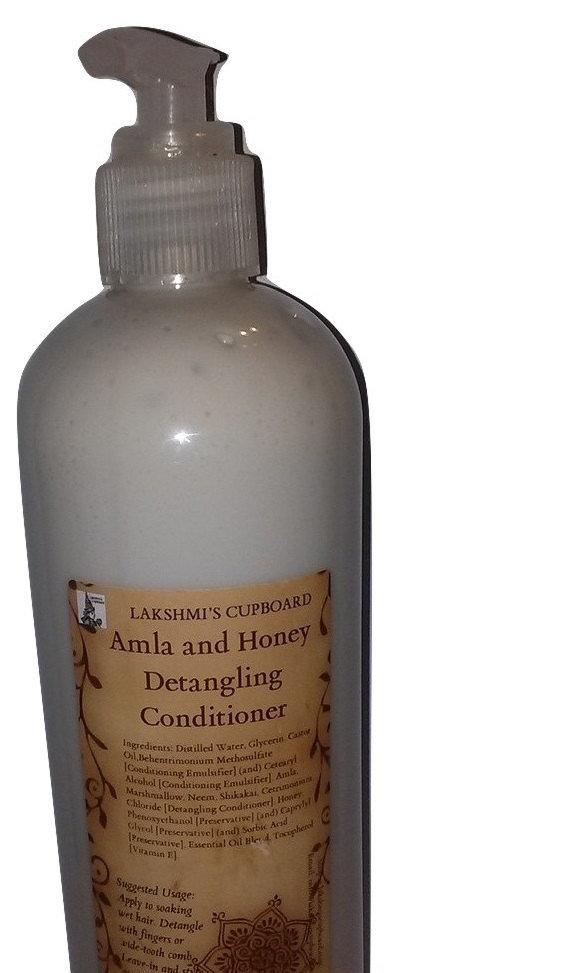 Amla and Honey Detangling Conditioner Sample Size  w/ Neem, Mashmallow and Shikakai (Leave-in Conditioner) 00044