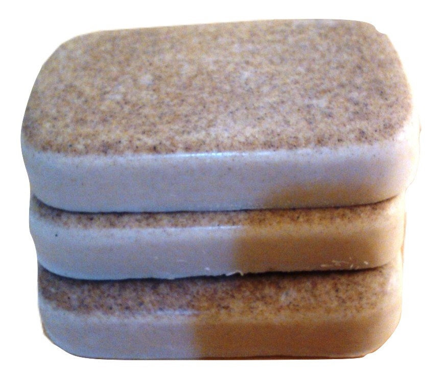 Low Lather Rhassoul Clay Shea Butter Shampoo and Conditioner Bar Sample Size 00045