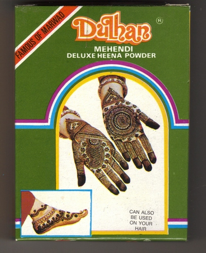 Dulhan Henna Powder 100gm - Body Art Quality 35