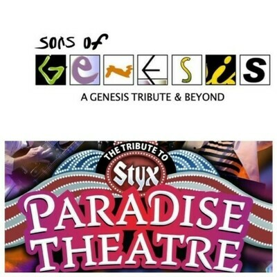 Sons of Genesis & Paradise Theater – Oct 19 2019 – 7:30pm