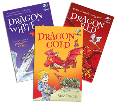 Dragon Gold Trilogy - signed with free poster!
