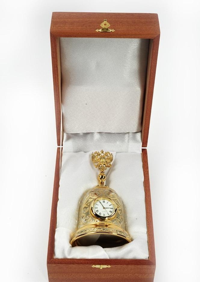 Часы колокол с гербом РФ