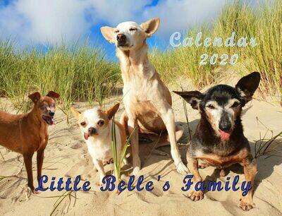 Little Belle's Family Calendar 2020