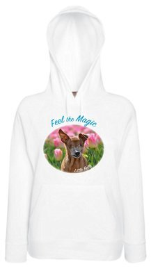 Little Belle Light Weight Hoodie 'Feel the Magic'