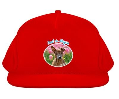 Cap Little Belle 'Feel the Magic' Red