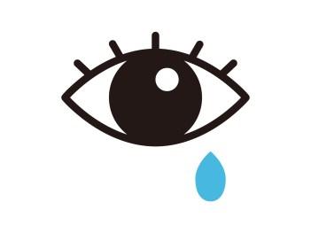 目の奥、頭痛