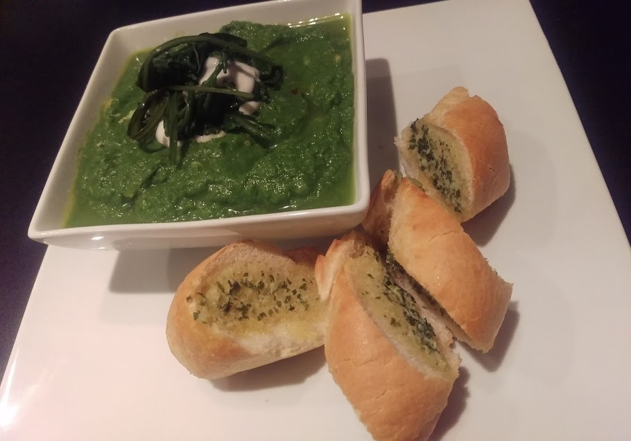 I just cooked… Sea Green Soup