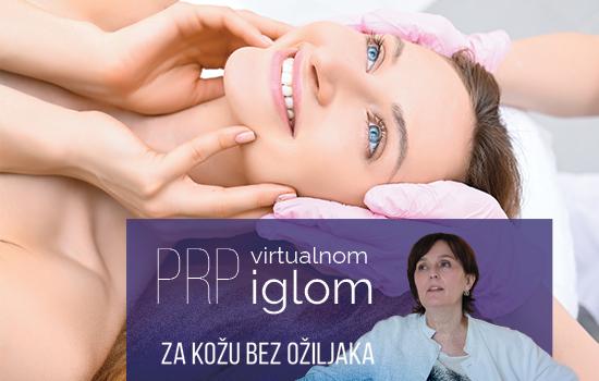 NOVO u Poliklinici Ritz  – Platelete Rich Plasma  (PRP) s virtualnom iglom.