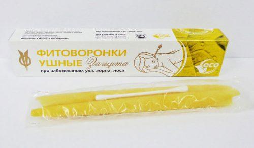 Fitovoronki (कान प्लग से मोमबत्तियाँ)
