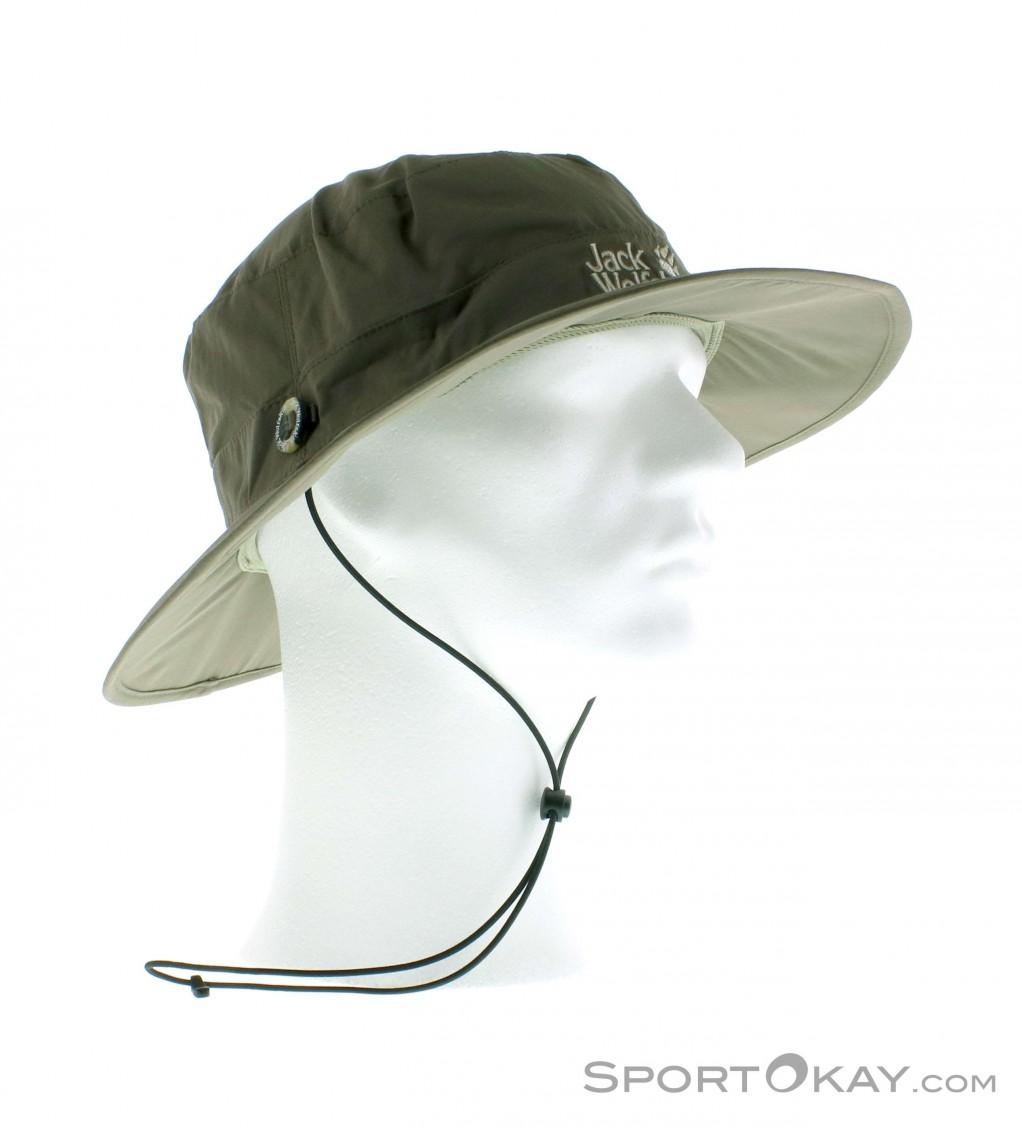 Jack Wolfskin Supplex Mesh Sun Hat Caps Headbands Outdoor Clothing Outdoor All