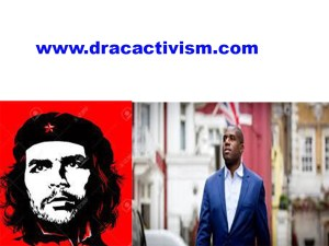 , Why David Lammy is a New Che Guevara who courageously, fearlessly and factually compares Boris Johnson and Jacob Rees-Mogg to Nazis and Hitler