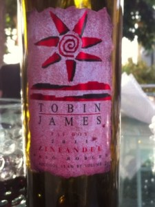 Tobin James, Dracaena Wines, Zinfandel