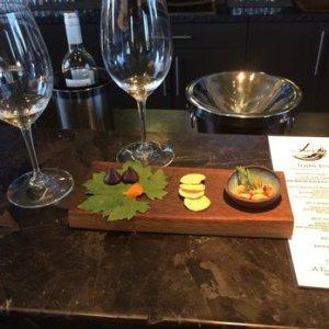 J. Dusi wine tasting food pairing