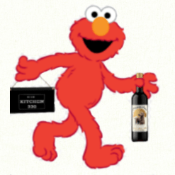 Elmo with Dracaena Wines and Kitchen 330