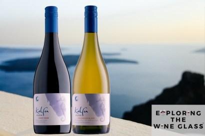 Kalfu Pinot Noir and Sauvignon Blanc