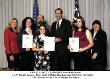 2004 ohio coastweeks award iceality