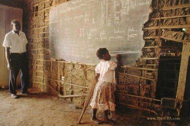 Ambassador renate african school