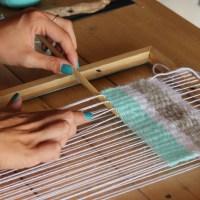DIY mon tissage mural en laine + Vidéo