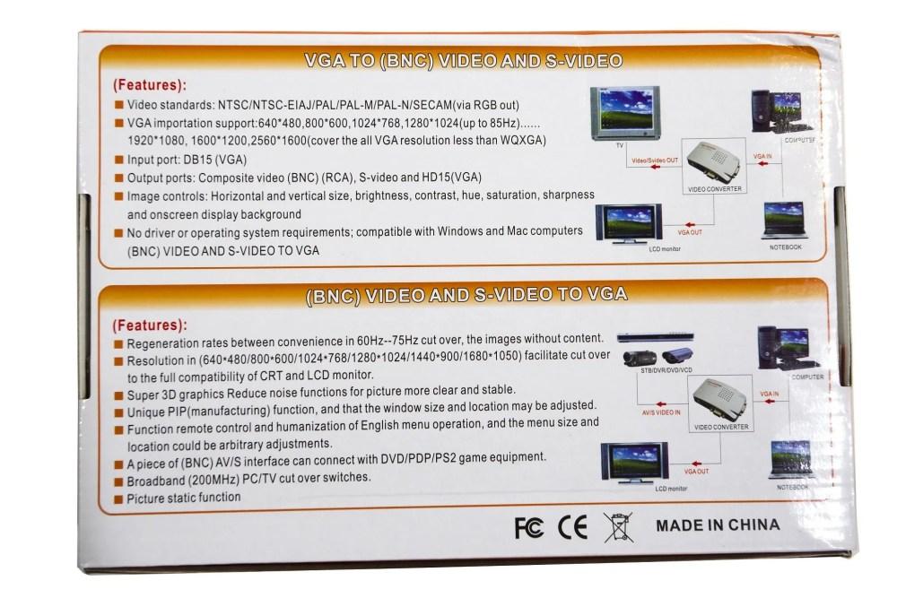 Avinair Spitfire Pro VGA to Video/PC to TV Converter