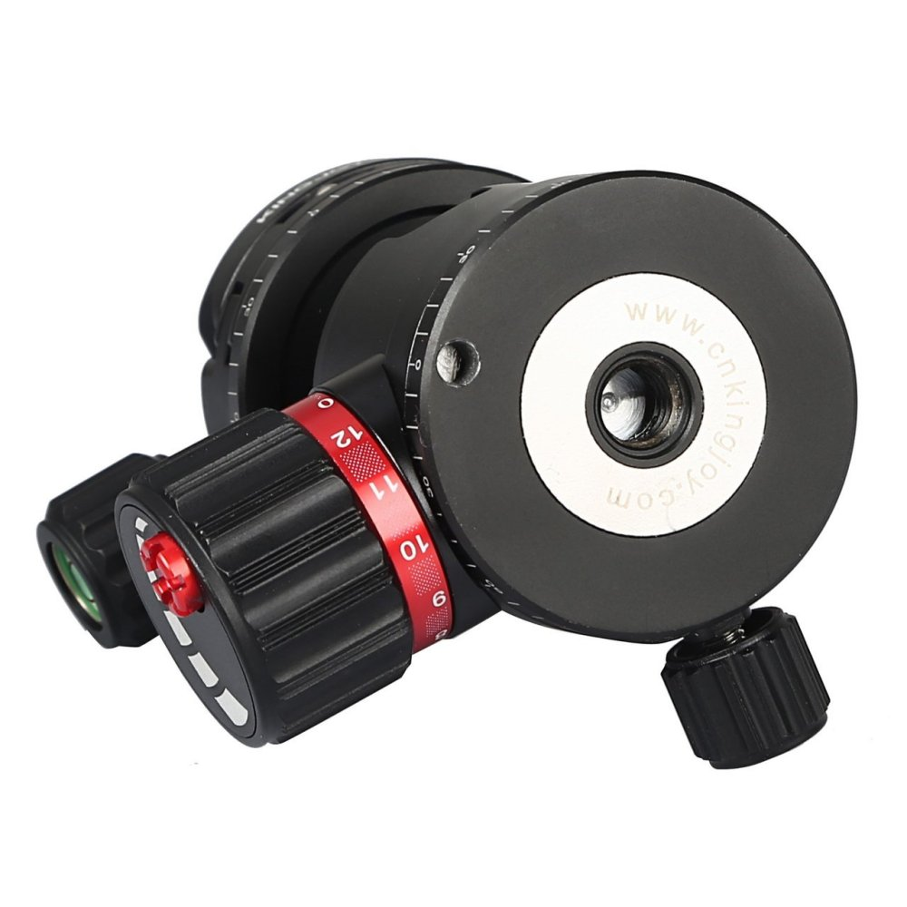 Kingjoy T20 Low Profile Ball Head with Panoramic Quick Release Plate
