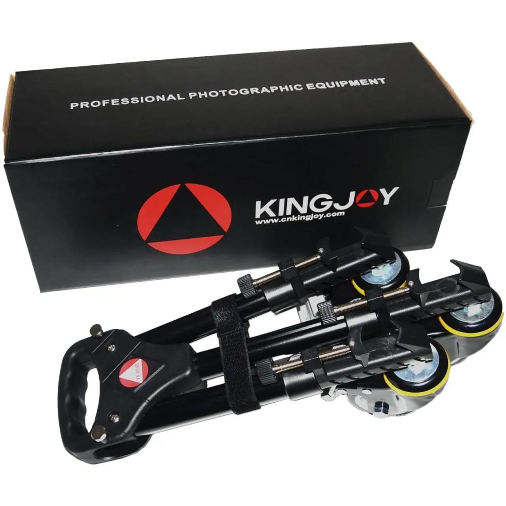 Kingjoy VX-600D black Professional Tripod Dolly