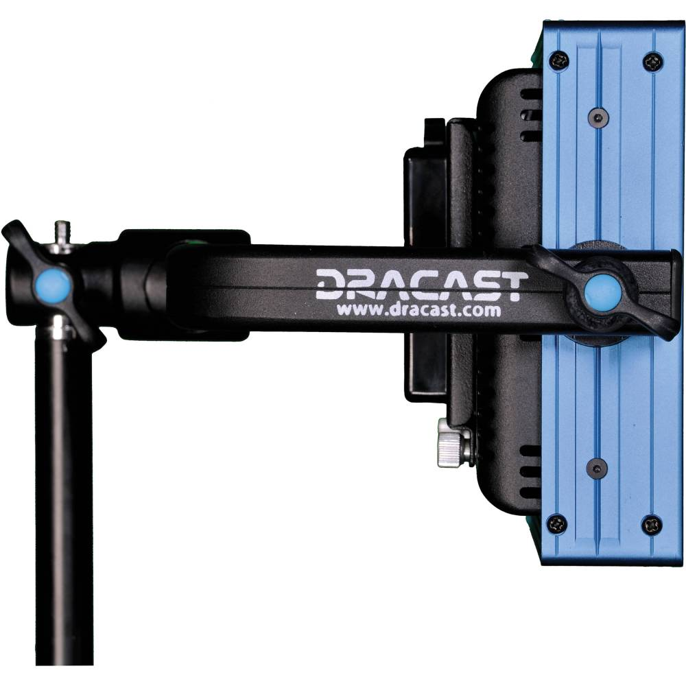 Dracast LED500 Pro Tungsten LED Light with Gold Mount Battery Plate
