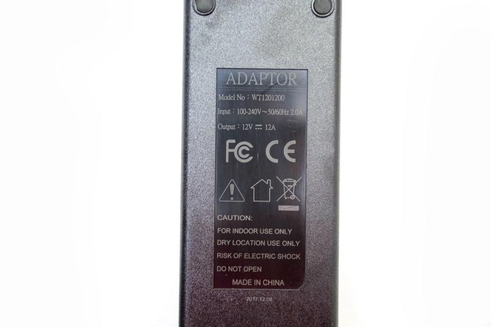 Dracast AC Power Supply LED1000 LED Panel (Pro, Plus, Studio)