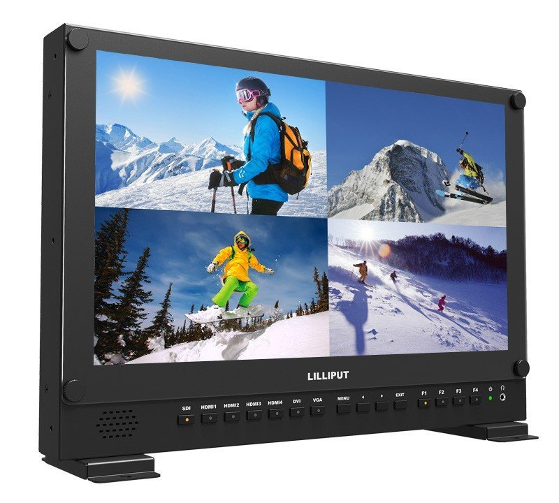 Lilliput 4K HDMI Carry-On Broadcast Monitor with SDI, HDR 3D LUTS