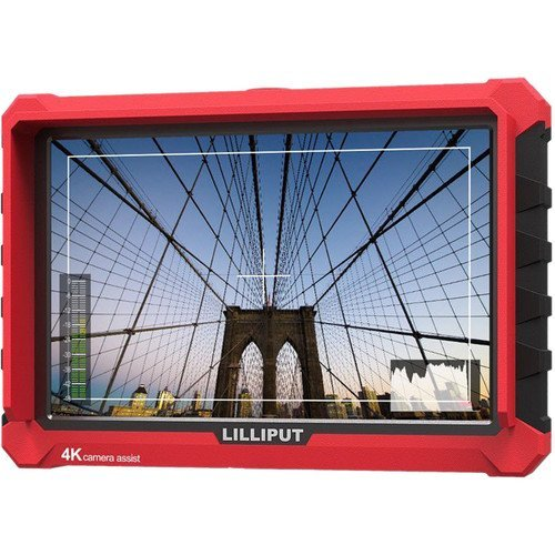 "Lilliput A7S 7"" Full HD Monitor with 4K Support (Red Case)"