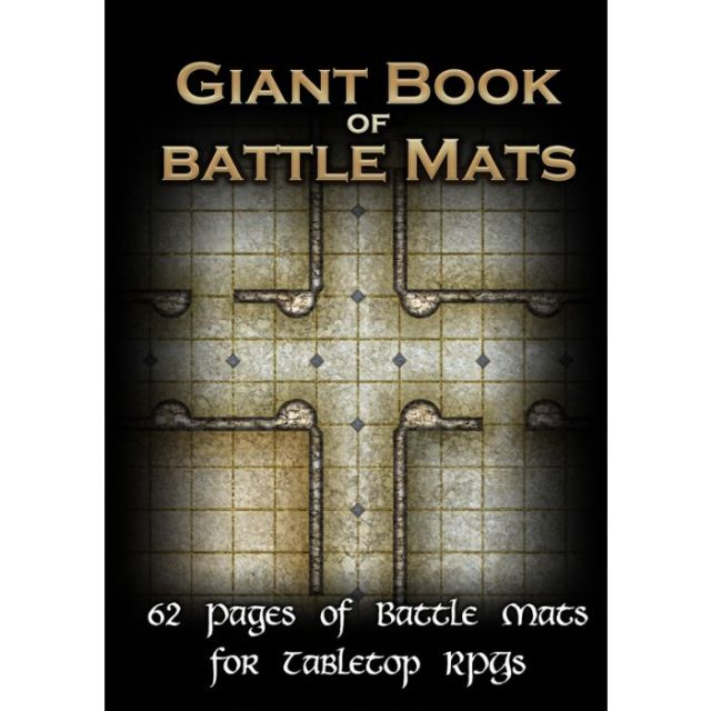Front Cover of Giant Book of Battle Mats