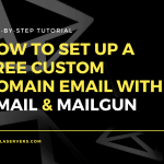 How To Set Up A Free Custom Domain Email with Gmail