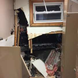 Dracut Police Investigating After Pickup Truck Crashes into Town DPW Building