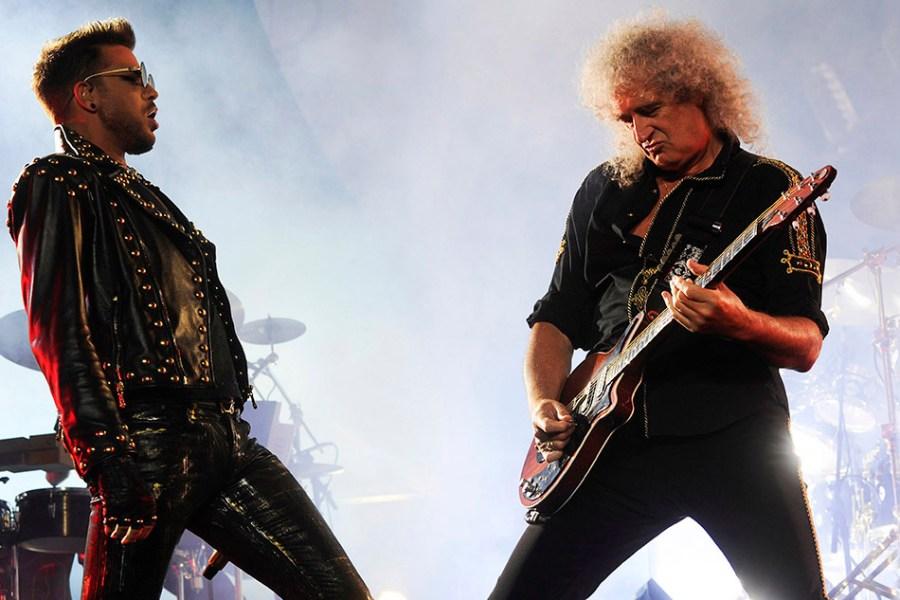 Queen, Adam Lambert, Brian May