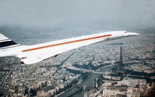 Concorde over Paris