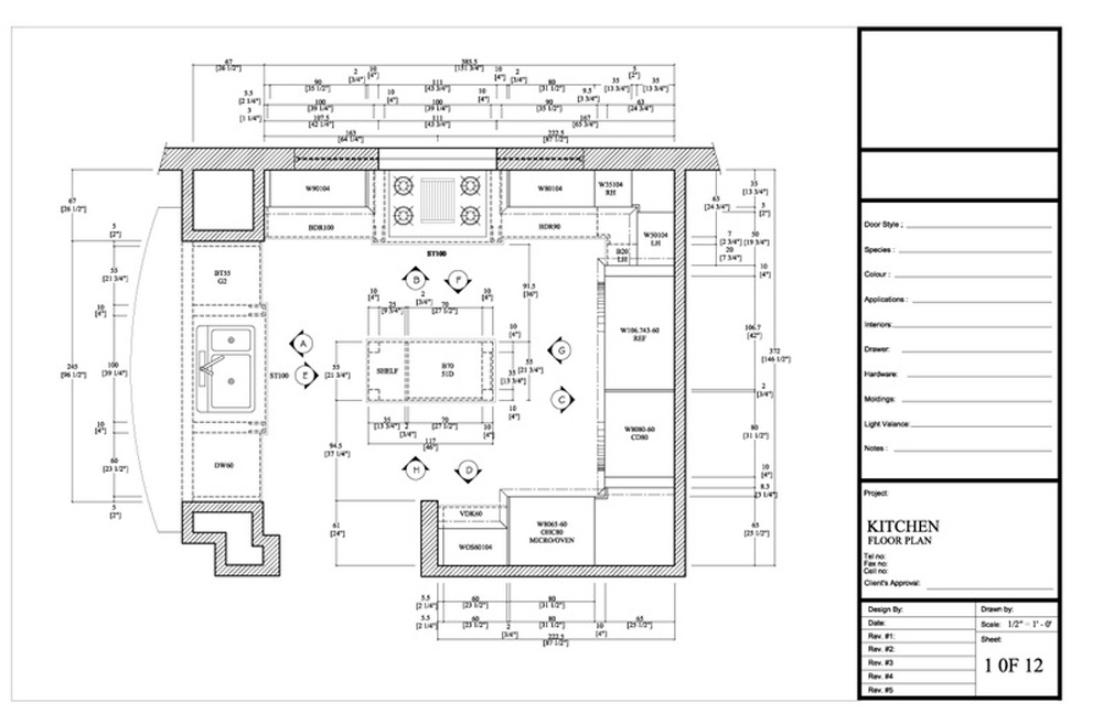 Draw My Kitchen Plan