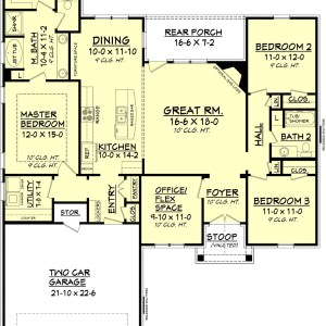House Plan 1210 3.2.2