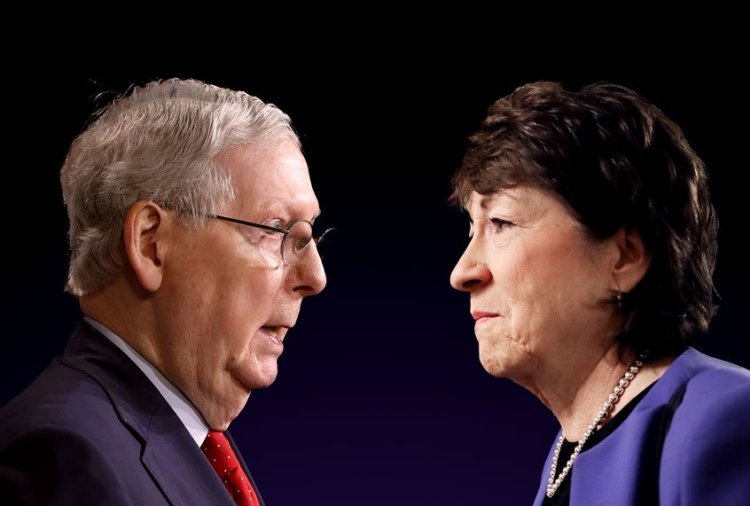 Cory Gardner Mitch McConnell pouring dark money into Maine to increase Susan Collins