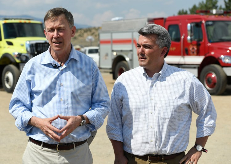 Andrew Romanoff Colorado poll shows John Hickenlooper leading Cory Gardner in U.S. Senate race