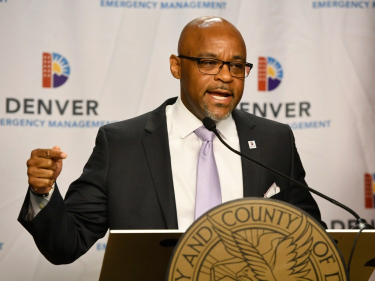 Cory Gardner Denver Mayor Michael Hancock, other black leaders endorse John Hickenlooper for Senate