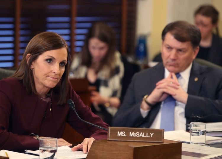 Cory Gardner Republican Martha McSally Slips in Polls, Faces Money Problems in Tight Arizona Senate Race Against Democrat Mark Kelly