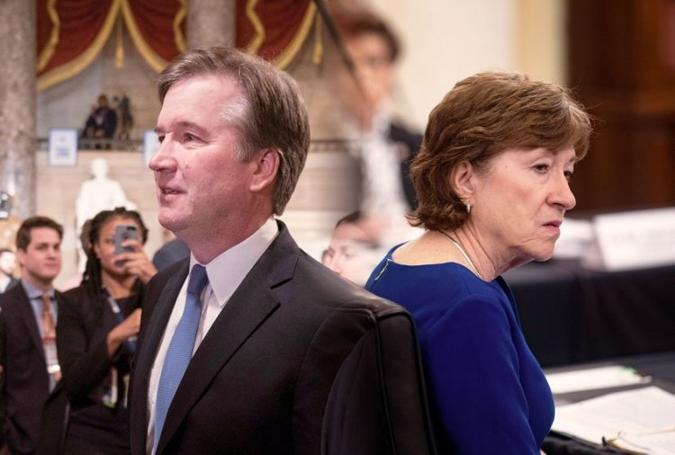 Cory Gardner Susan Collins still into Brett Kavanaugh, defends his precedent-shattering anti-choice vote