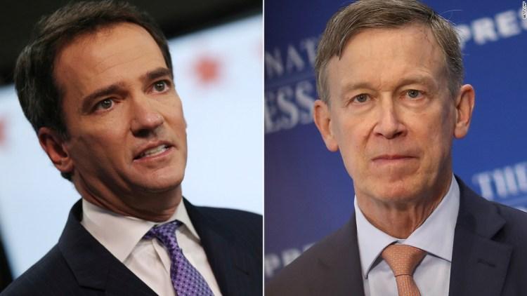 Cory Gardner Colorado votes for John Hickenlooper to take on GOP Sen. Cory Gardner, CNN projects (CNN)