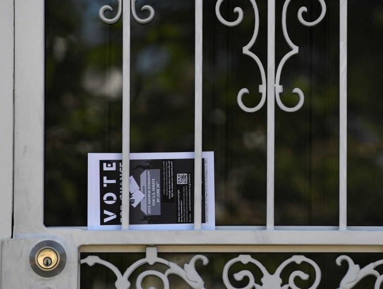Andrew Romanoff Election Day: Romanoff seeks an upset over favorite Hickenlooper in Senate primary